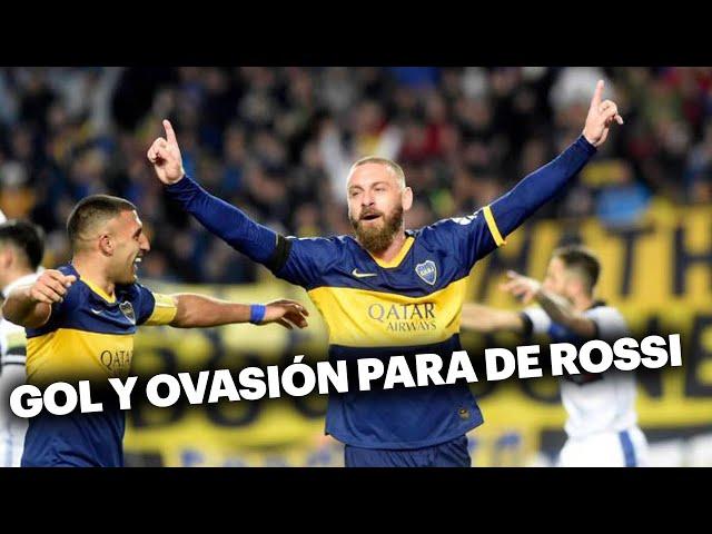 De Rossi y el debut soñado en Boca: gol y ovación