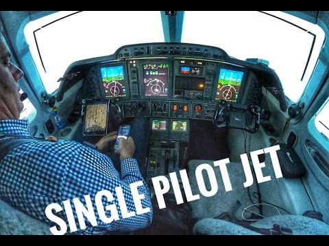 Single Pilot Jet Flight- Carlsbad to Dallas
