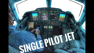 Single Pilot Jet Flight- Carlsbad to Dallas