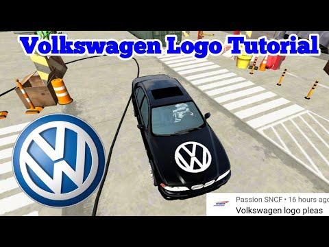 Volkswagen Logo Tutorial :Car Parking Multiplayer
