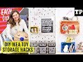 5 DIY IKEA toy storage hacks | Easy(ish) S02E01