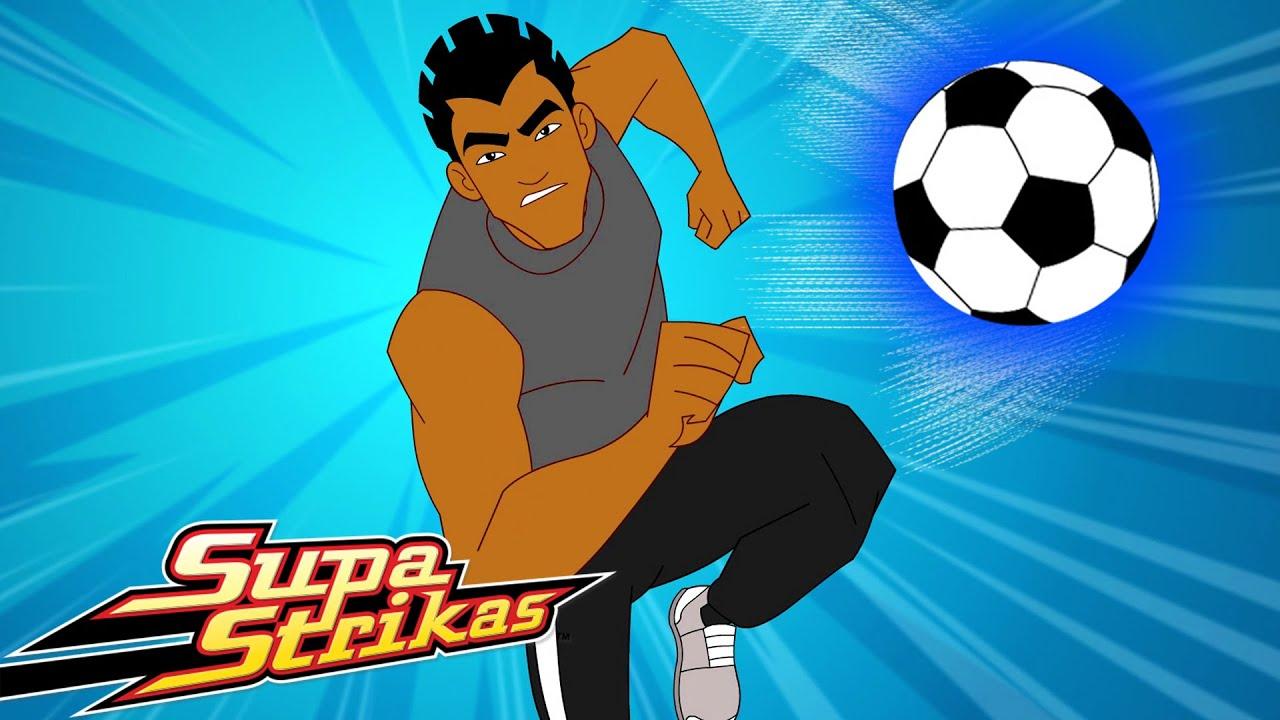 S6 E4 Sepack Atack   SupaStrikas Soccer kids cartoons   Super Cool Football Animation   Anime