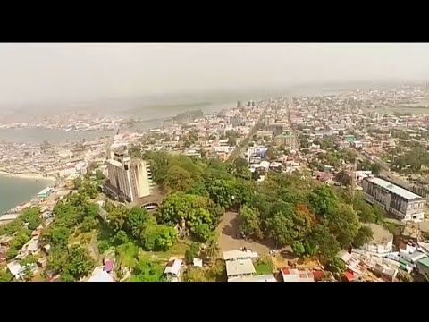 Monrovia city ,the capital of Liberia