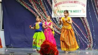 Swagatham welcome song by Likhitha Reddy & Group