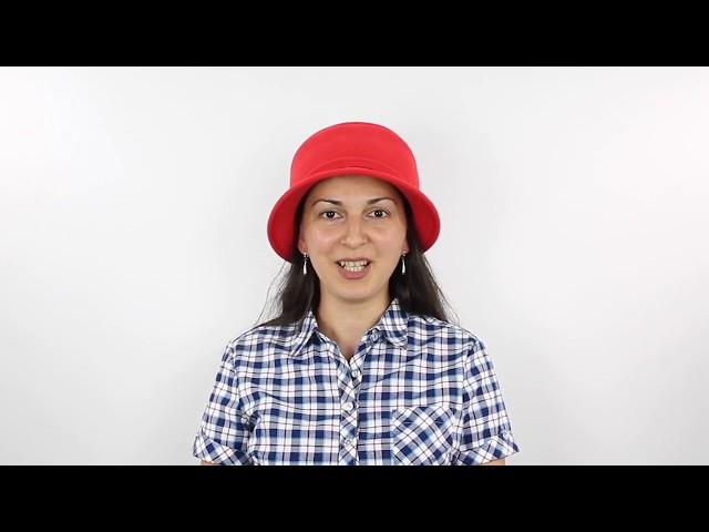 Шляпа, Элисон Красная