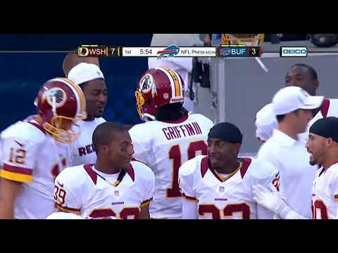 Redskins Vs Bills 2012 Preseason Week 1