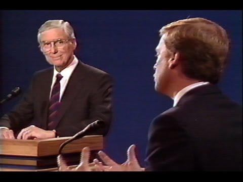1988 Vice Presidential Debate (Dan Quayle-Lloyd Bentsen) / Joined in Progress