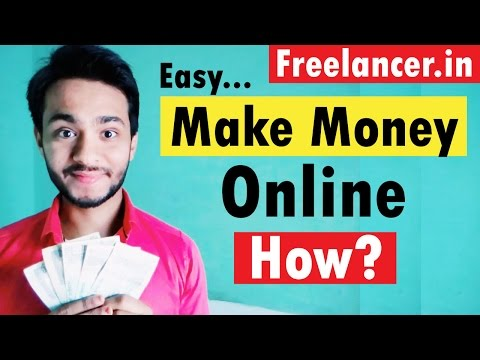[Hindi] How to Find Work & Make Money Online on Freelancer.in