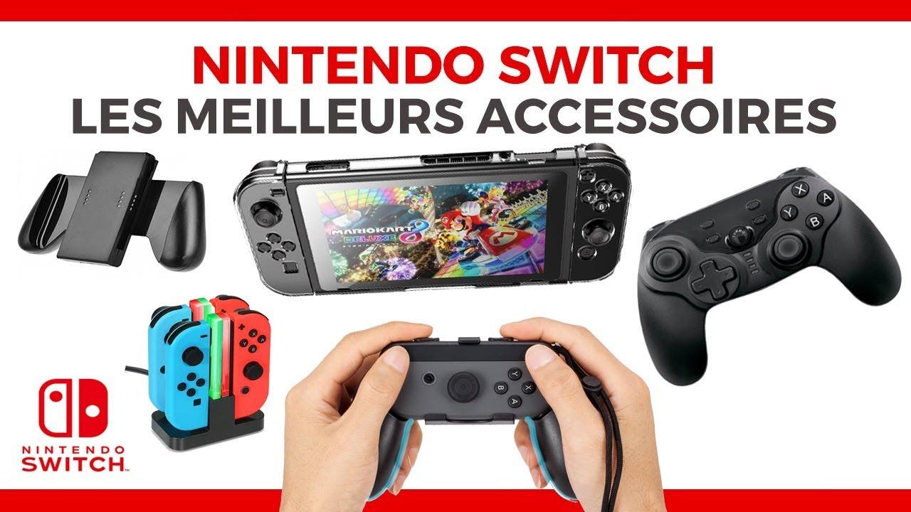 Présentation en vidéo des meilleurs accessoires 2018 de la Nintendo Switch !