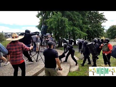 Antifa Attacks Christians at Prayer Event