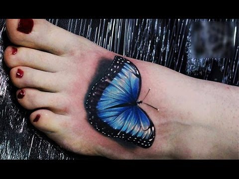 Best Foot Tattoos-Amazing Tattoo Designs