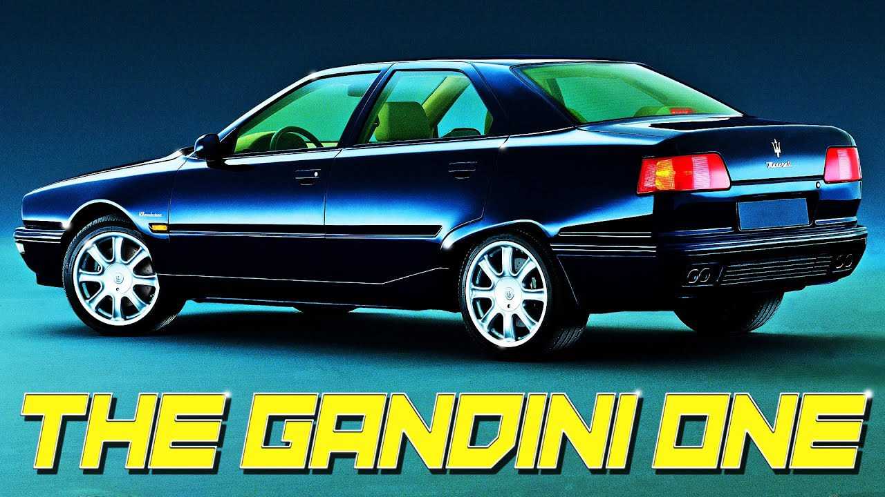 The Gandini One: Maserati Quattroporte IV 1994-2001 - YouTube