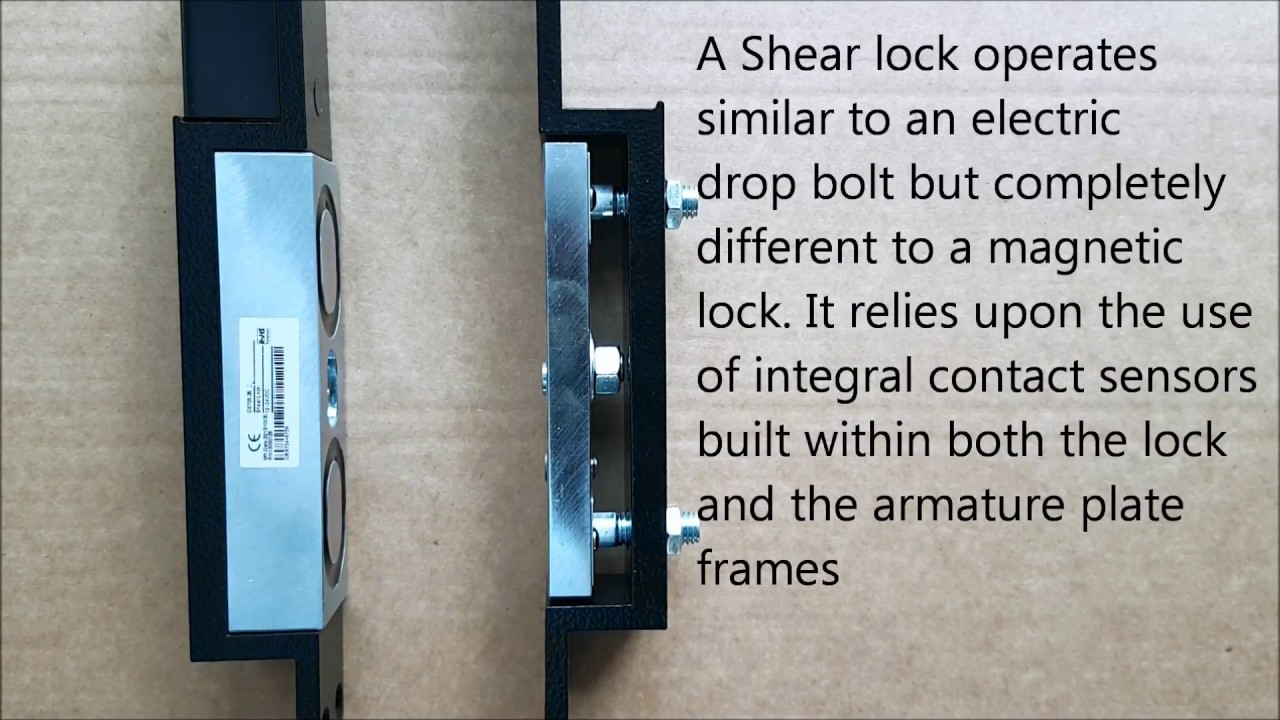 Shear lock - How does a Shear lock work on