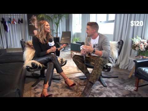 Randell keeps saying the word 'panties' during Elle Macpherson interview
