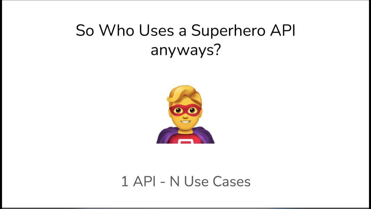 So Who Uses a Superhero API anyways? - My first experience building a paid API