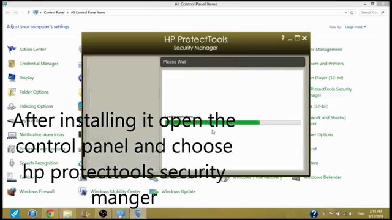 HP Validity Fingerprint Sensor Drivers Windows