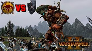 Beastmen vs. Warriors of Chaos - THE HORNED AND THE HOOVED | Total War: Warhammer 2