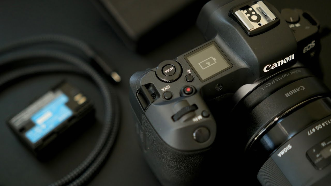 Canon EOS R TIPS - USB C / Power Bank Charging