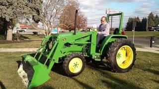 John Deere 970 4WD 440 Loader
