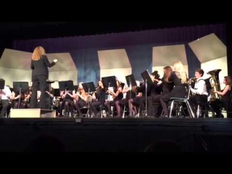 West Orient Middle School 8th grade band concert