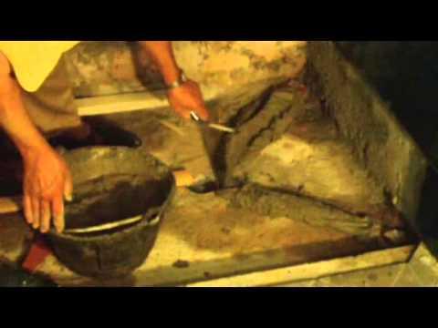 Cómo construir in situ plato ducha Cap. 2º Formación pendientes Vídeo nº 117