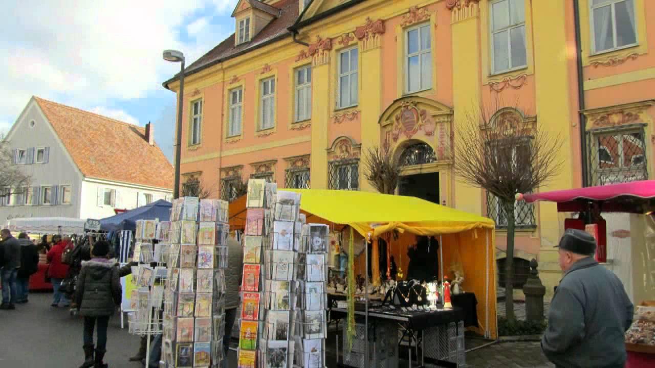 Sebastimarkt Am Barocken Marktplatz In Allersberg Youtube