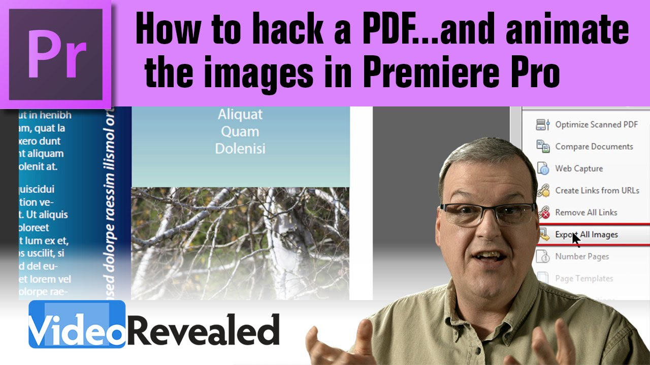 How to hack a pdfd animate the images in premiere pro youtube how to hack a pdfd animate the images in premiere pro baditri Images