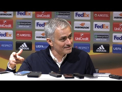 Manchester United 1-0 FC Rostov (Agg 2-1) - Jose Mourinho Full Post Match Press Conference