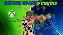 GTA 5 - AGORA SORTEIO DE DUAS CONTAS SUPER UPADAS - XBOX ONE E PS4