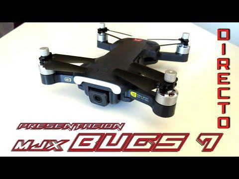 Фото Presentacion en Directo MJX Bugs 7, el nuevo drone de 250 gramos