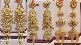 Latest Gold Earring Designs With Weight