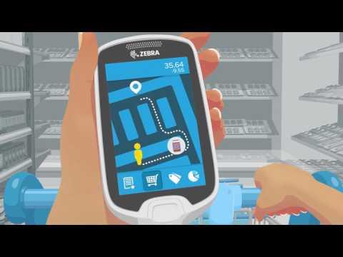 Новый формат торговли: Personal Self Shopper Zebra MC17