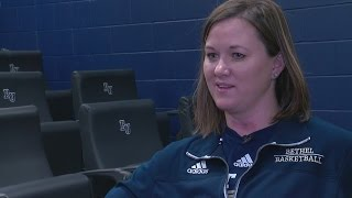 Female Assistant Coach Thriving For Bethel Men's Basketball Team