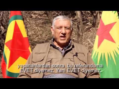 """PKK BİR KEZ DAHA KÜRT HALKINI """"HAYIR"""" DEMESİ İÇİN TEHDİT ETTİ."""