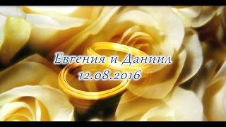 Свадебный клип Евгения и Даниил Бурлаковы 12 08 2016 г.Камышлов