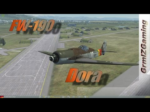 DCS - Focke Wulf 190 D-9 // Overview and Online Flights