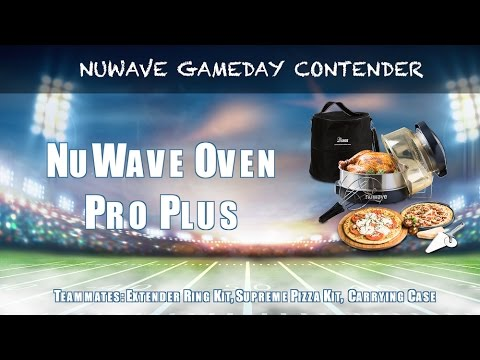 Gameday Eats - NuWave Oven Pro Plus