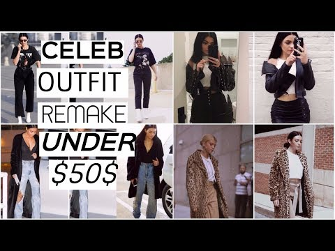 CELEBRITY LOOKS FOR WAY LESS    Kendall, Kylie Jenner , Kim K, & Sofia!