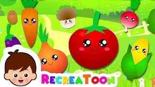 comptine bébé - chanson pour les enfants - apprendre les légumes en français