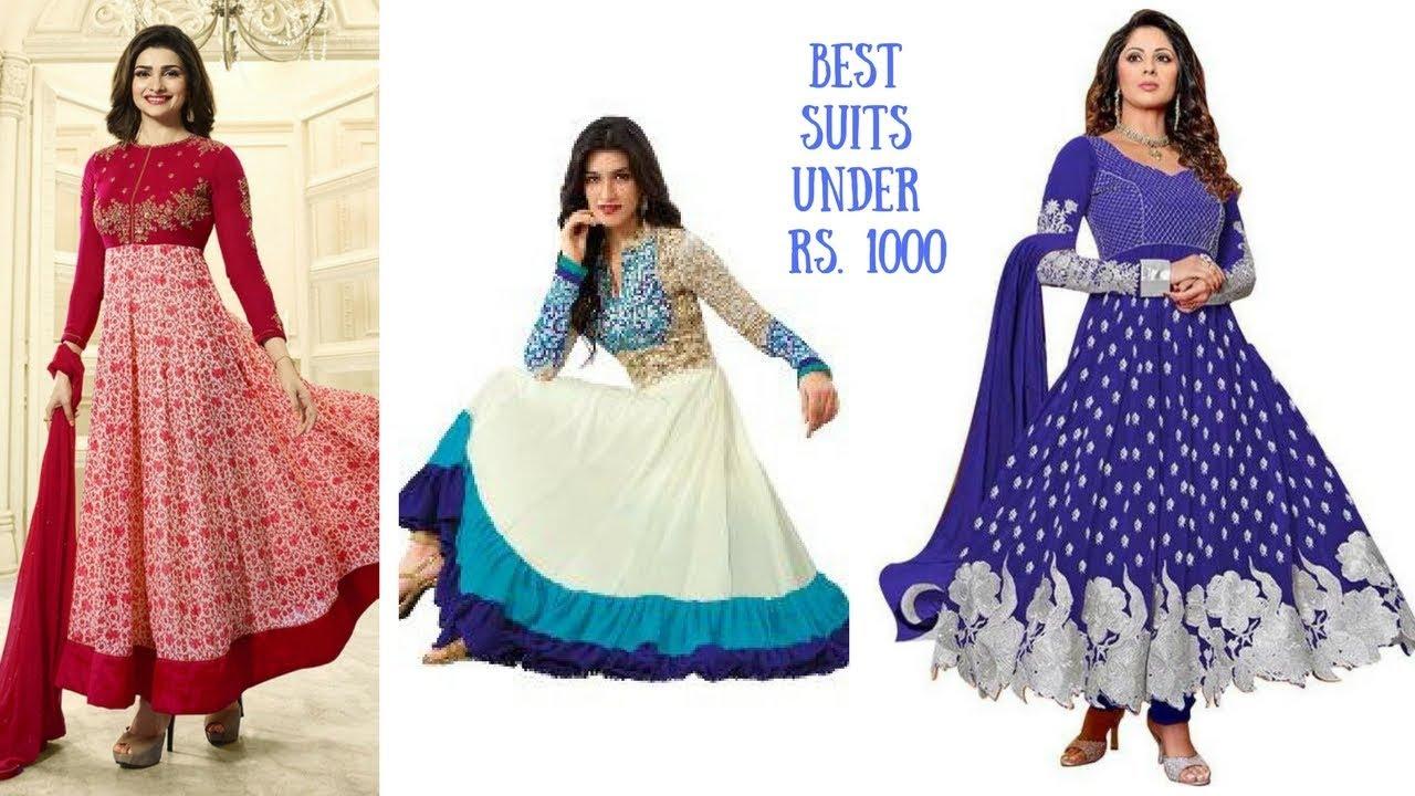 Suit Salwaar Designer Suits Best Under 1000 For S Fashion Tips