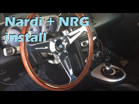 Nardi steering wheel & NRG hub install ep.5