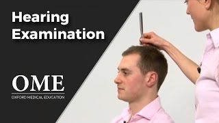 ENT - Hearing Tests - Rinne and Webers Examinations.mp4