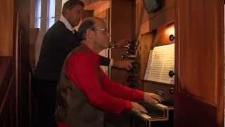 Willem van Twillert plays Bach, Jesus bleibet meine Freude, Organ, Bunschoten