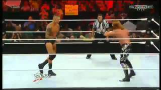 (Randy Orton Returns 2012) vs Heath Slater