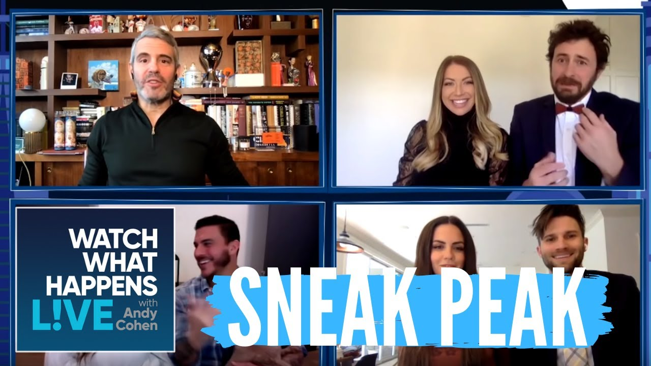 Vanderpump Rules Couples Takeover WWHL At Home! | Sneak Peak of Full Episode | 7 Minute Preview
