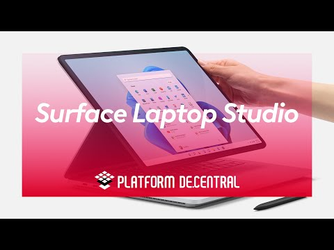 The new Surface Laptop Studio- Incredibly powerful, infinitely flexible