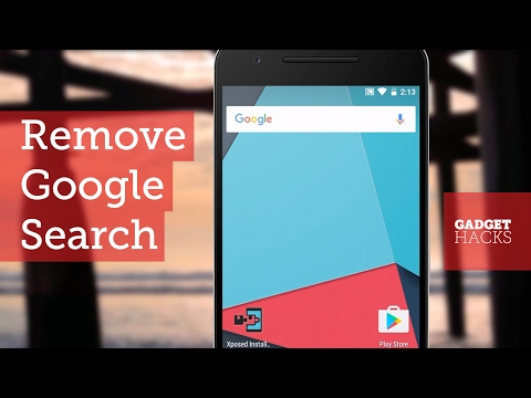 Get Rid of the Built-in Google Search Bar on Almost Any