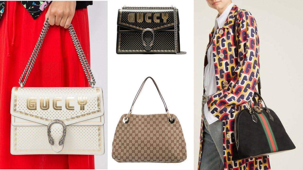 9cb12c6f959 Gucci bags 2018 collection - YouTube