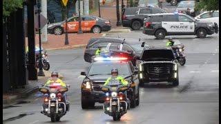 Delaware State Police Cpl Stephen Ballard funeral procession
