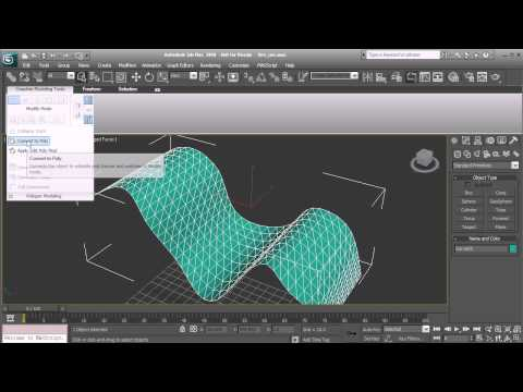 Ask DT: 3ds Max - How To Convert Triangles Into Quads In 3ds Max